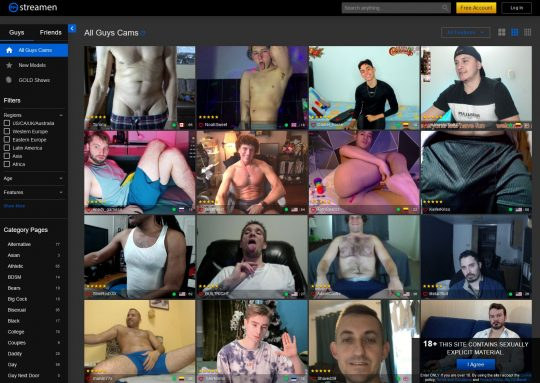 Streamen Find Sexy Livecams of Cute Men and Boys