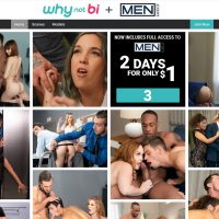 WhyNotBi Porn Site Is A Unique Site Focusing More On Gay Men