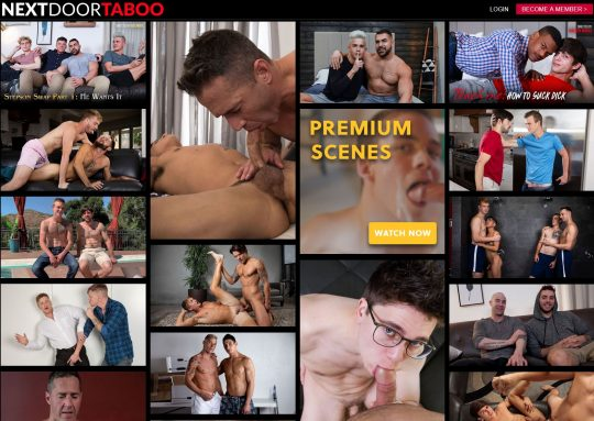 NextDoor Taboo The Porn Site That Explores Gay Incest Porn