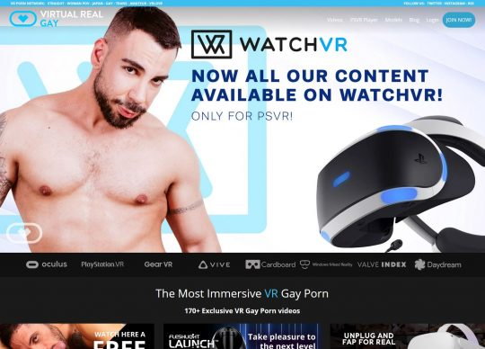 VirtualRealGay the Gay VR Porn Site That Updates Every Week