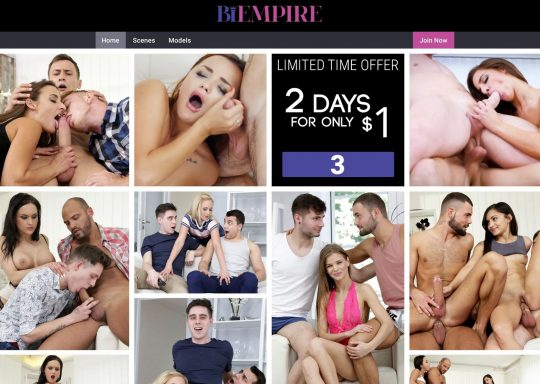 Bi Empire The BiSexual Porn Site With Couples Swinging Both Ways