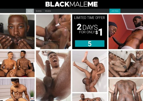 BlackMaleMe Watch Over 239+ HD Videos of Black on Black Men Fucking