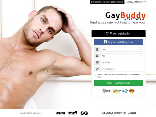 GayBuddyNextDoor Find Your Gay Male Soulmate to Connect With Longterm