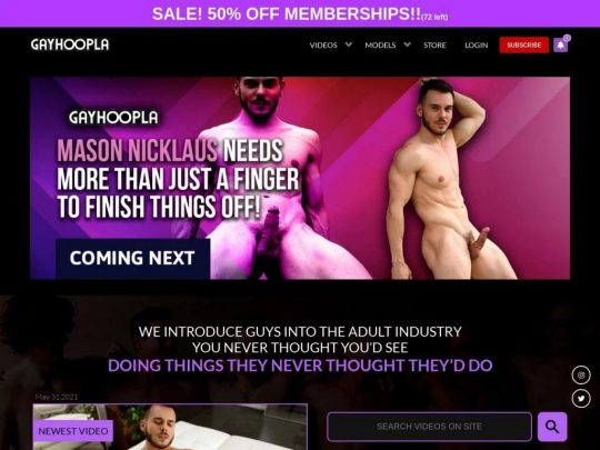 Gay Hoopla a Place to Find the Best HD Gay Porn