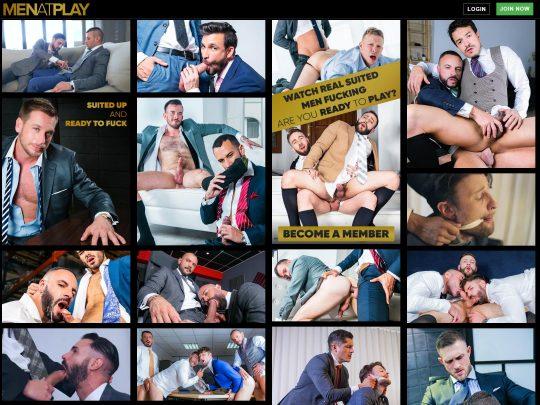 MenAtPlay Watch Sexy Gay Men Fucking Hardcore In Nice Suits